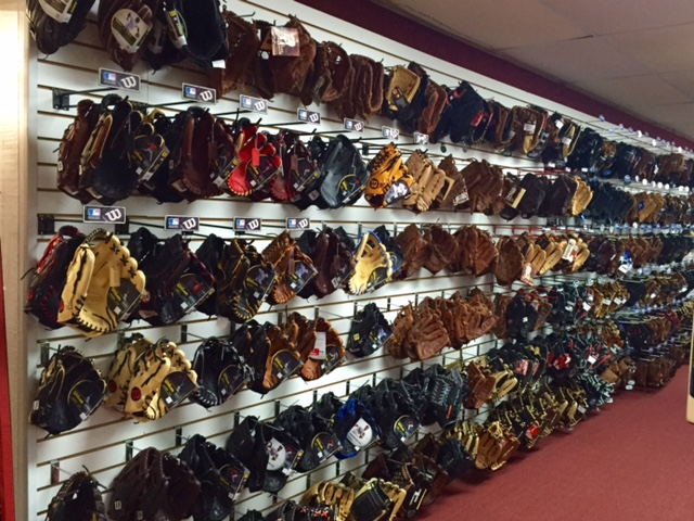 bb glove wall